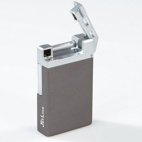 JetLine Opal Flint Soft Flame Lighter - Gun Metal