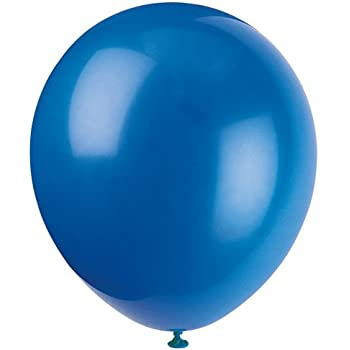 "12"" Latex Royal Blue Balloons, 72ct"