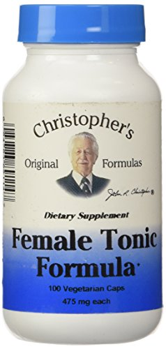 (Christopher's Original Formulas Female Tonic Formula, 100 Count)