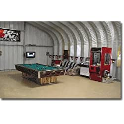 Steel Factory Mfg P16x20x12 Residential General Garage Metal Building Systems