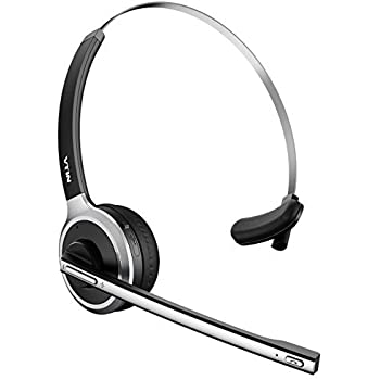 Amazon Com Vtin Bluetooth Headset With Microphone Wireless Headset