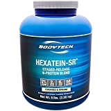 Cheap BodyTech Hexatein SR™ (Staged Release) 6 Protein Blend for Muscle Growth Recovery + EFA's, MCT's CLA, Cookies Cream (5 Pound Powder)