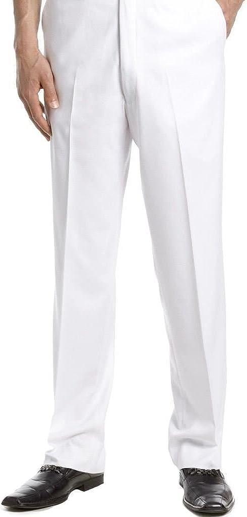 Tm Exposure Mens Toruser Dress Pants Slim Fit Flat Front Wrinkle Resistant