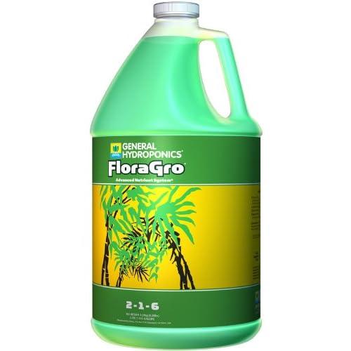 1 gal. - FloraGro - Vegetative Stimulator - Hydroponic Nutrient Solution - 2-1-6 NPK Ratio - General Hydroponics 718045