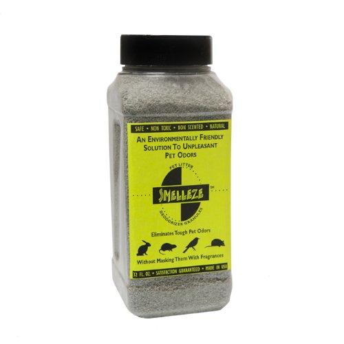 SMELLEZE Natural Rabbit Smell Removal Deodorizer: 50 lb. Granules Eliminate Pet Stink by SMELLEZE