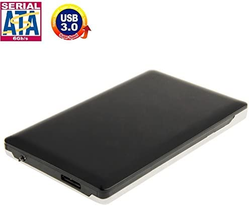Color : Black HUFAN High Speed 2.5 inch HDD SATA /& IDE External Case Hard Drive Accessorie Black Support USB 3.0