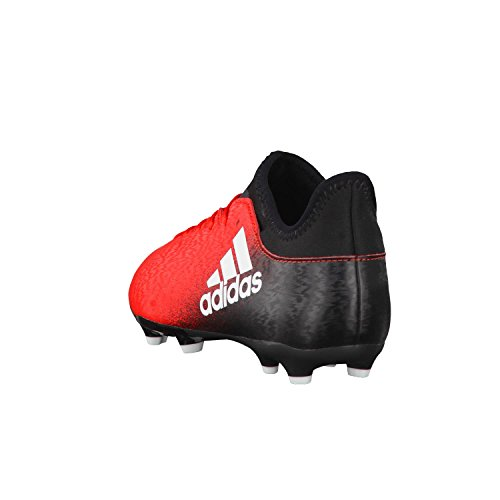 Garçon core noir Red de blanc X adidas Chaussures Rouge Black Foot 3 J white FG 16 8qPU16