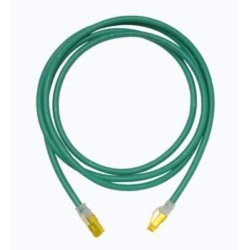 25 ORTRONICS MC6A25-05 OR-MC6A25-05 RJ45-RJ45 Green Cat6A UTP Modular Patch Cord Pack of 4