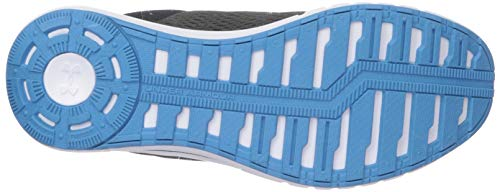 Under Armour Men's Micro G Pursuit Running Shoe, Academy Blue (402)/Black, 9.5 by Under Armour (Image #3)