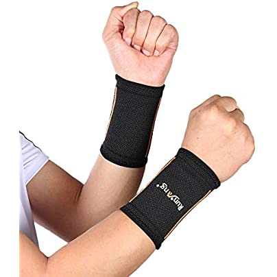 HBLWX Alleviate The Chronic Elbow Joint Wristband Comfortable Arthritis Protection for Wrist Pain Discomfort Minor Contusion Sprain-a Pairs S Estimated Price £18.60 -