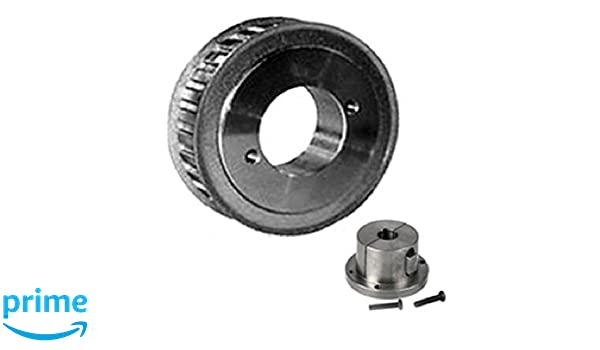 Browning 44HQ150 Steel Stock Gearbelt Pulleys with Split Taper Bushings for H150 Belts 1//2 Pitch 1.5 Wide