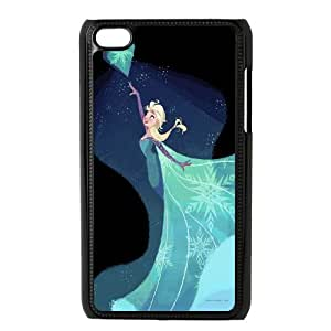 frozen,anna and elsa,snowman frozen forever series protective cover FOR IPod Touch 4 SB4553321