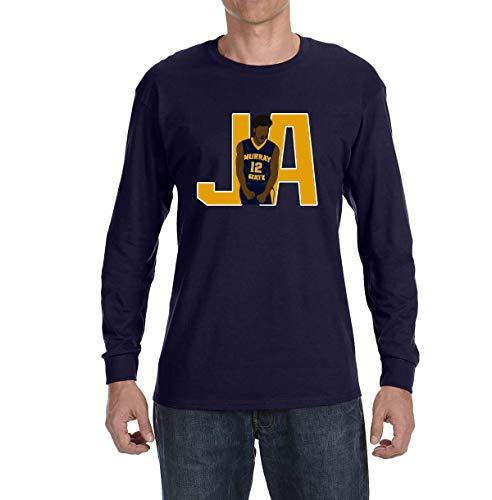 Peg Leg Shirts Navy Murray State JA Long Sleeve Shirt Adult Small