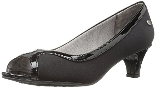 LifeStride Women's Lanessa Dress Pump - Black - 9 B(M) US