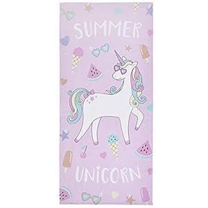 Catherine Lansfield Summer Unicorn Multi Telo Mare 76x 160cm 3 spesavip