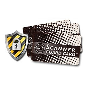 Scanner Guard Card - Your Best Protection Against RFID Credit Card Theft - Compl by Scanner Guard Card