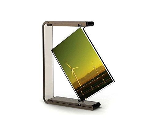 ANLOTER Acrylic 6 inch Revolving Photo Frame,Can be Horizontal Or Vertical Placement, Creative Photo Frame, Personalized Simple Frame. YSK