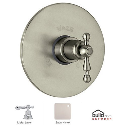 (Rohl AC190LM-STN/TO A6886/30Pn Cisal Trim Set Only to Concealed Thermostatic Mixer Valve)