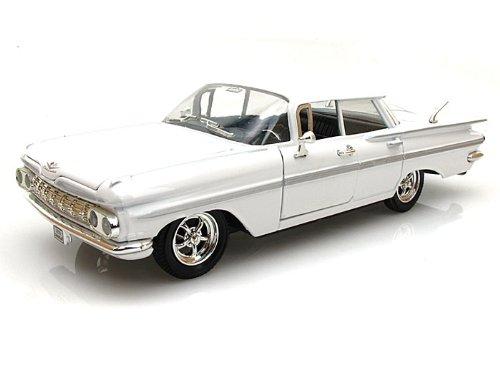 1959 Chevrolet Impala Sedan 4 Doors White 1/32 by Arko Products 35901 4 Impala
