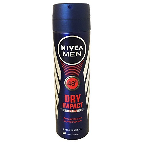 Nivea Deo for Men Spray 48 Hr Antiperspirant 150ml (Pack of 6) + Our Travel Size Perfume by Nivea (Image #2)