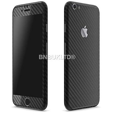 Bnbukltd full body wrap textured carbon fibre decal sticker skin cover for mobiles apple