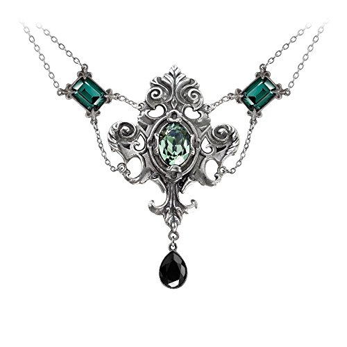 Queen Of The Night Necklace by Alchemy Gothic (Alchemy Gothic)