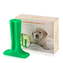 MINGPINHUIUS Dog Toothbrush Dog Chew Toys Dog Tooth Brush Stick for Medium Dog Doggy Puppies Oral Dental Care (Small)