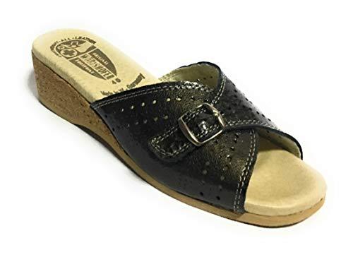 Worishofer Women's 251 Sandal (40, Grey ()
