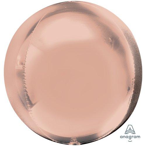 Anagram 36181 Orbz-Rose Gold Foil Balloon, 16