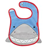 Skip Hop Zoo Tuck Away Bib, Snazzy Shark