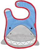 Skip Hop Zoo Tuck Away Bib, Shark