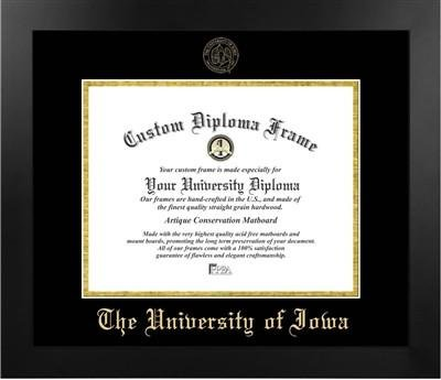 - University of Iowa Most Popular Diploma Frame