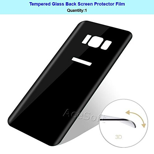 [3D Full Curved Edge] 9H Hardness Anti-Bubble Wear-Resisting Edge-to-Edge Shockproof Back Tempered Glass Screen Protector for Samsung Galaxy S8 SM-G950U Android phone by SodaPop (Image #2)