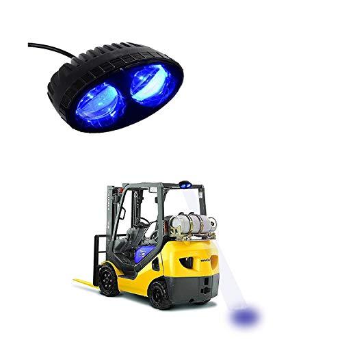 Blue LED Forklift Safety Light Warehouse Safe Spot Lights Warning Lamp 5.5 8w,CREE Chip 10-30VDC,250LM