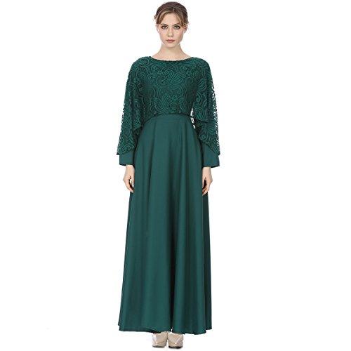 ade5860b07 Luomeidisha Lady's Islamic Abaya Dress Muslim Woman's Long Dress Kaftan