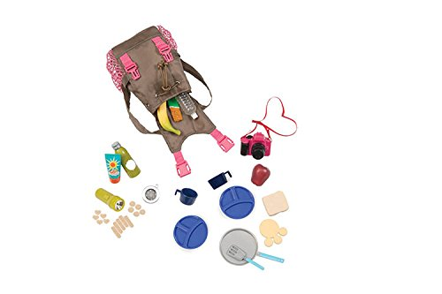 Our Generation Dolls What A Trek Hiking Gear Set for Doll...