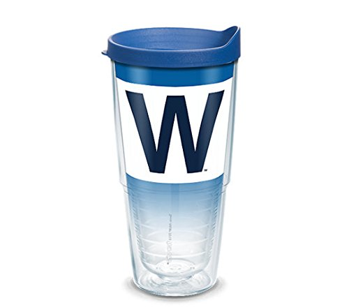 - Chicago Cubs W FLAG Tervis Tumbler with Lid, 24oz MLB