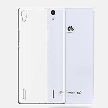 Mtpro Funda Huawei P7, Carcasa Silicona TPU Protectora Gel ...
