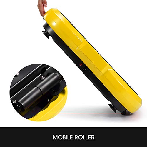 GENKI Fitness Vibration Platform Workout Machine Whole Full Body Shape Exercise Training Power Plate (Yellow) by GENKI (Image #5)