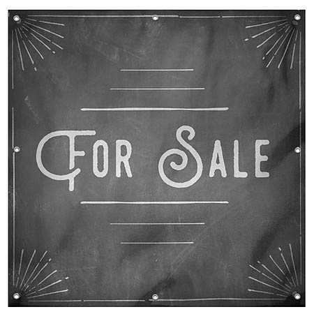 8x8 for Sale CGSignLab Chalk Corner Wind-Resistant Outdoor Mesh Vinyl Banner