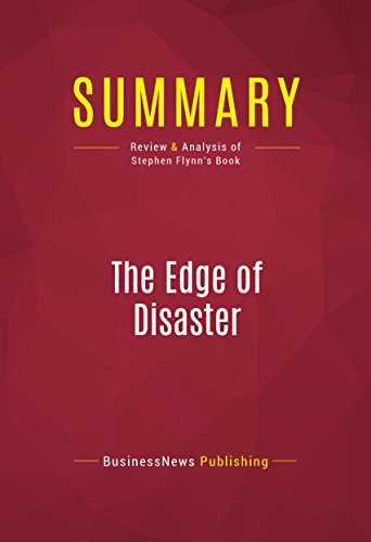 Get PDF Summary: The Edge of Disaster: Review and Analysis