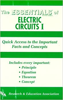 Book Essentials of Electric Circuits I (Essentials (Que)) (Vol 1) by Research & Education Association (1987-06-03)