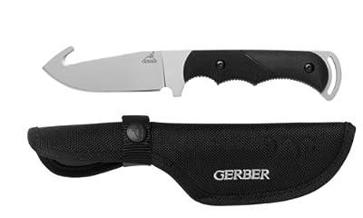 Gerber Freeman Guide Fixed Blade Knife, Fine Edge, Gut Hook [31-000589]