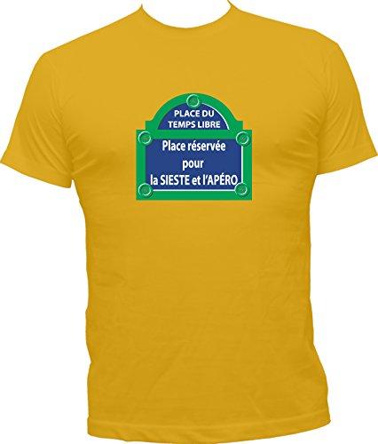 T Kko Boutique Place Jaune Temps Libre Humoristique shirt a5ddqTw