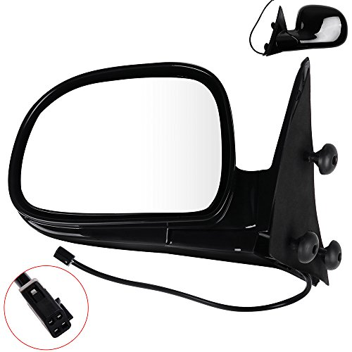 SCITOO Towing Mirrors fit Chevy GMC Exterior Accessories Mirrors fit 95-97 Blazer Jimmy 94-97 S10 Sonoma with Power Controlling Manual Folding and Non-Telescoping Features (Driver - Mirror Gmc S15 Jimmy