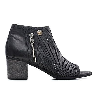 948cb00c76a Nero Giardini ARTÍCULO P615230D 100 NEGRO DE LA MUJER botas de los zapatos  de tacón NUEVA