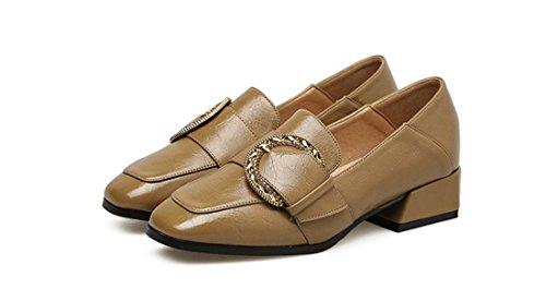 Mocassins Décontractés Classiques Pour Femmes - Mocassins De Conduite Molletons Doux Sur Chaussures 19-11 De Couleur Crème