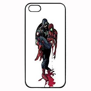 Captain America and Spider-Man Custom Image For SamSung Galaxy S4 Phone Case Cover Diy pragmatic Hard For SamSung Galaxy S4 Phone Case Cover High Quality Plastic Case By Argelis-sky, Black Case New