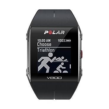 Polar V800 GPS Sports Watch, Black