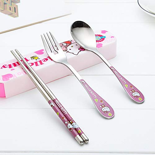 toon Stainless Steel Cutlery Dinnerware Sets With Box Outdoor Travel Dinner Set 2a - Holder Iridescent Meadow Knife Degeneres Blue Cutlery Lightweight Trim Deco Teal Asi ()